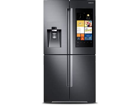 Samsung Door Refrigerator With Wifi by Samsung Launches Iot Tech Backed Fridge Featuring A 21 5
