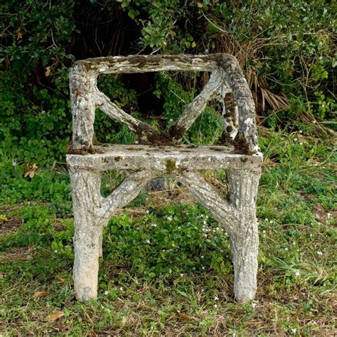 faux bois garden bench 19th century french garden faux bois bench chairs and