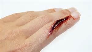 i cut my finger cut sfx makeup tutorial