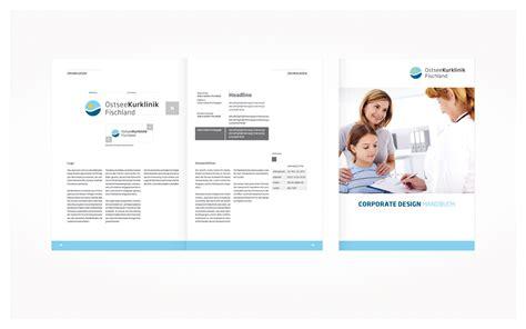Corporate Design Handbuch Vorlage Ostseekurklinik Wustrow Logoentwicklung Und Corporate Design Qbus Werbeagentur