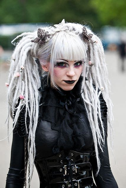 illusion of dreads styles white 1042 best gothic images on pinterest gothic beauty dark
