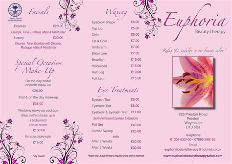 beauty price list best nail studio layout joy studio design gallery best