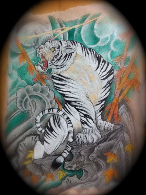 white tiger tattoo meaning white tiger back www pixshark images