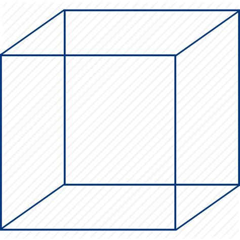 3d Cube Photo Frame by Basic Cube Frame Frames Model Transparency