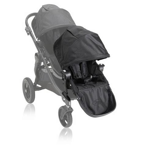 baby jogger select second seat black 2014 baby jogger city select second seat kit all black pre