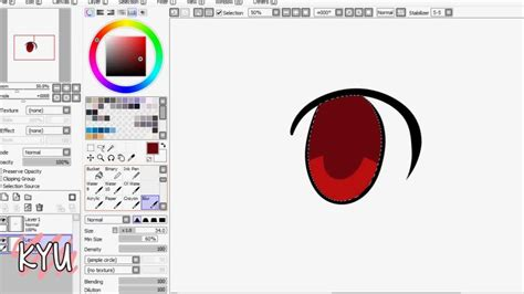 how to paint tool sai on android tablet how to draw an anime eye paint tool sai with pen tablet