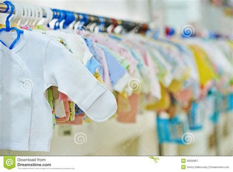store for baby clothes newborn clothes shop royalty free stock photography