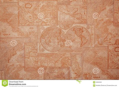 vintage map pattern world map in vintage pattern stock image cartoondealer