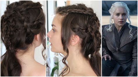 7 Hairstyles For Football Season by Daenerys Targaryen Of Thrones Season 7 Hair
