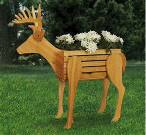 reindeer wood patterns planter woodworking plans