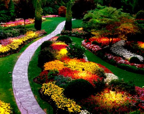 Beautiful Garden Ideas Pictures Of Beautiful Garden Landscapes Peenmedia
