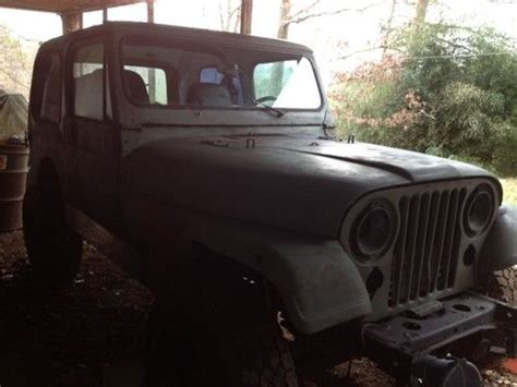 1983 Jeep Wrangler For Sale Sell New 1983 Jeep Wrangler 4wd V8 Engine In Cleveland