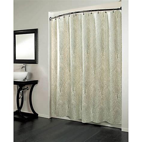 print shower curtain forest 70 inch x 72 inch fabric metallic print shower