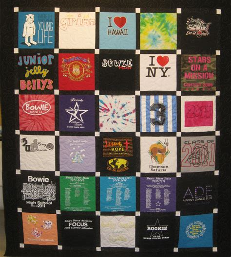 T Shirt Quilt Atlanta by T Shirt Quilt Service The Top Quilting Studio