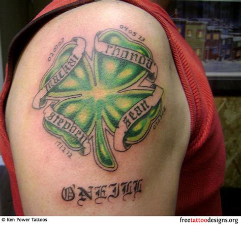 irish heritage tattoo 77 tattoos shamrock clover cross claddagh