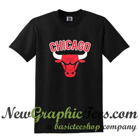 T Shirt Chicago Baseball Dtg Digital Print chicago bulls logo t shirt