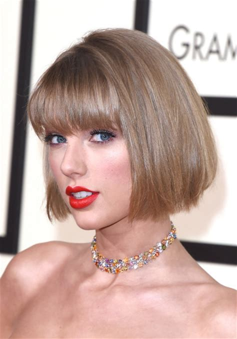 eye grazing bangs taylor swift s new haircut in 2016 looking fresh