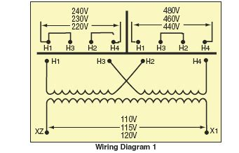 480 volt single phase transformer wiring diagram get