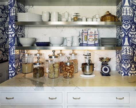 steven sclaroff the vase wallpaper eclectic kitchen steven sclaroff