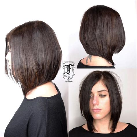Bob Hairstyles With Layers by S Chic Angled Bob With Layers And