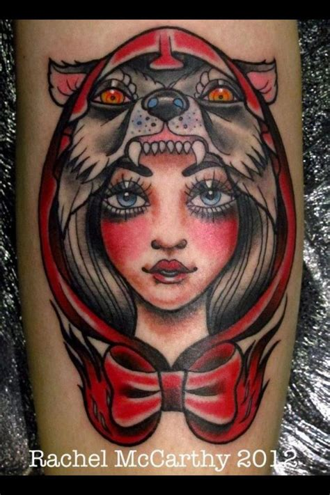 little red riding hood tattoo wolf images