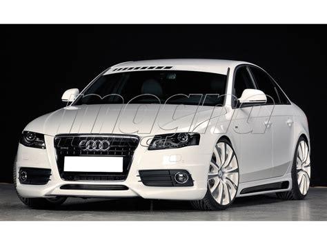 Audi A4 Front by Audi A4 B8 8k S Line Rx Front Bumper Extension