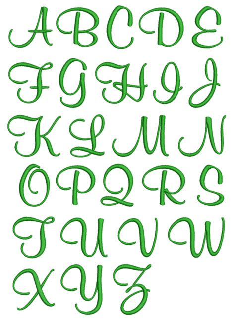 tattoo fonts girly girly alphabet fonts stitches by april handwriting