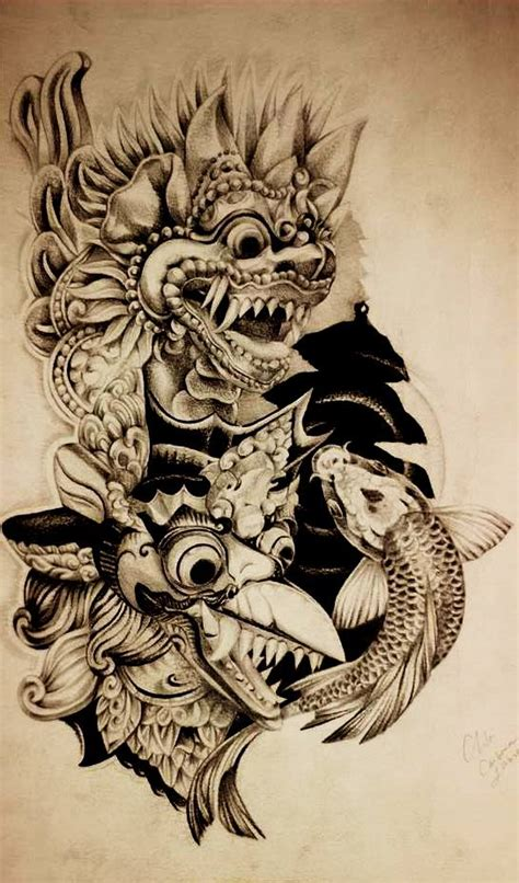 tattoo artist indonesia indonesian sleeve by coconut cocacola on deviantart