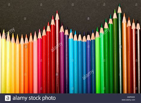 mit school colors pen pencil wood color colour multi rainbow color paint