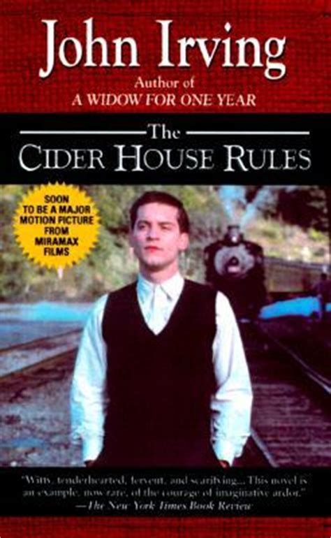 the cider house rules book the cider house rules