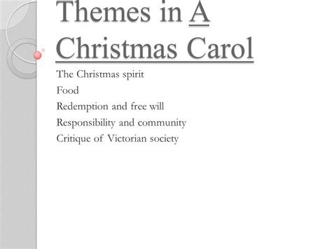 themes in christmas carol a christmas carol study guide ppt download