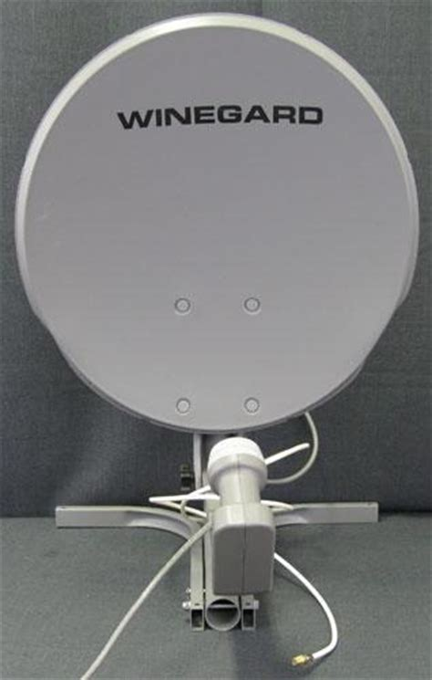 winegard satellite dish portable rv traveler cer tv antenna directv 19 quot used ebay