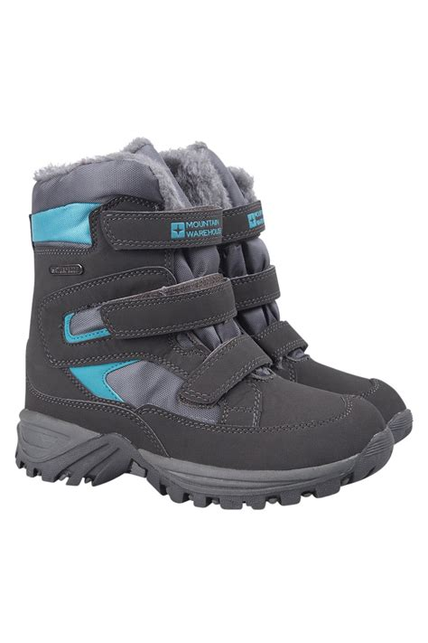 winter waterproof boots for mountain warehouse chill winter waterproof boots ebay