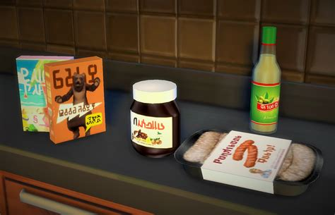 sims 4 food clutter my sims 4 blog kitchen misc clutter by budgie2budgie