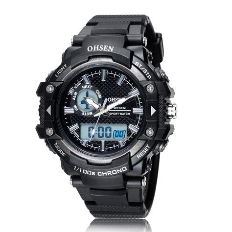 Ohsen Waterproof Quartz Digital Sport Ad0926 1 ohsen waterproof quartz digital sport ad1506 1 black jakartanotebook