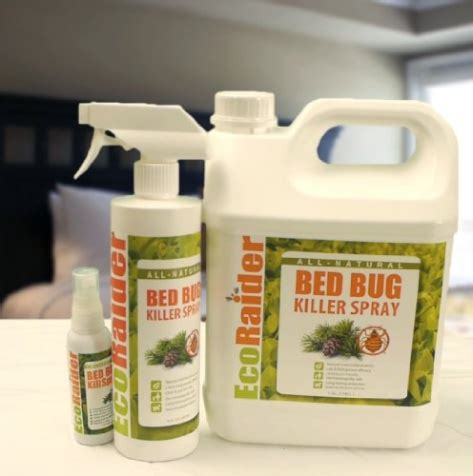 ecoraider bed bug spray ecoraider bed bug killer spray 16 oz green non toxic