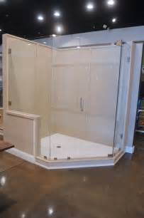 2 1 2 wall custom shower solid surface majestic