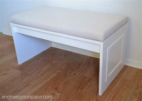 cushion for a bench diy no sew bench cushion smart diy solutions for renters
