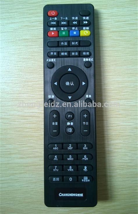 Remote Multi Tv Lcd Led Changhong mini mince noir 45 touches ir tv t 233 l 233 commande pour