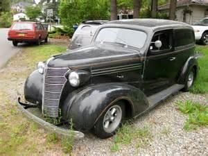 1938 Chevrolet Sedan Parked Cars 1938 Chevrolet Master Sedan Delivery