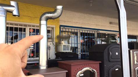 tiro chimenea accesorios para instalar el tiro de una chimenea o estufa