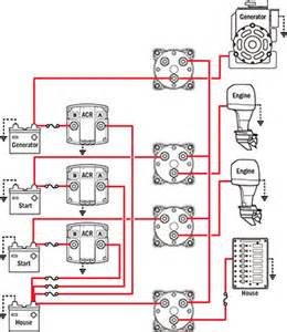 battery management wiring schematics for typical applications blue sea systems