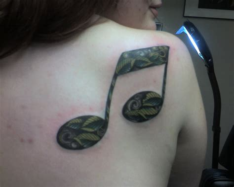 double tattoo 1st eighth note picture