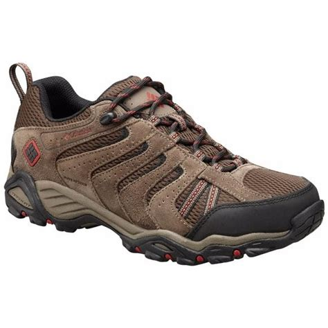 best trail hiking shoes columbia s plains ii waterproof leather low top