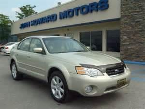 2007 Subaru Outback Sedan Used 2007 Subaru Outback 2 5i Limited Sedan For Sale