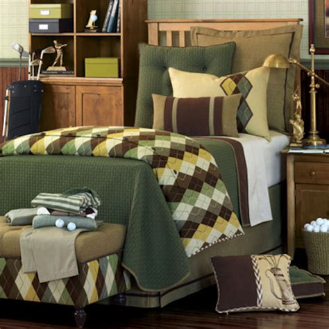 Golf Bedding by Eastern Accents Luxury Comforter The Frog And