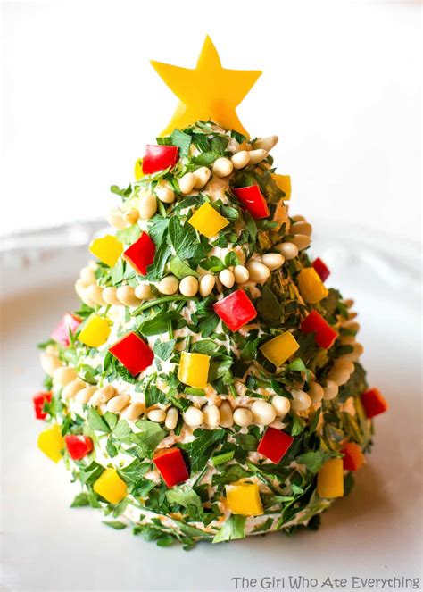 christmas cheese tree the girl who ate everything