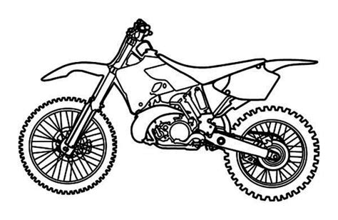 ktm dirt bikes free coloring pages