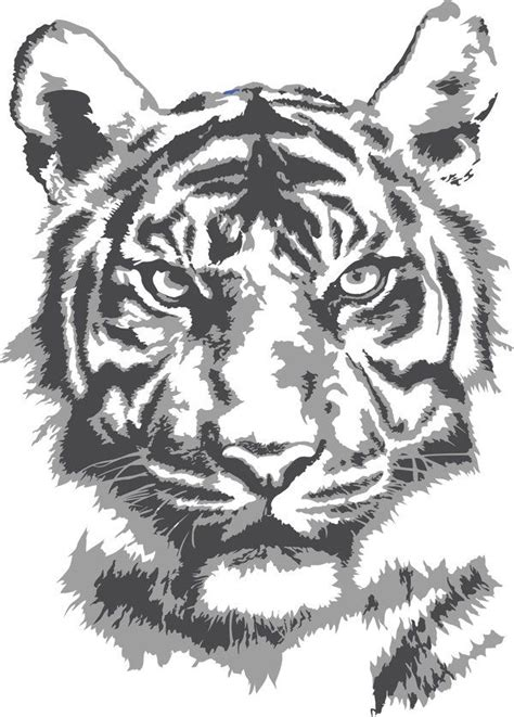 33 best images about tiger stencil on pinterest tattoo