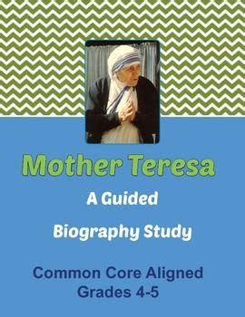 biography of mother teresa for students mother teresa biography and activities for students on